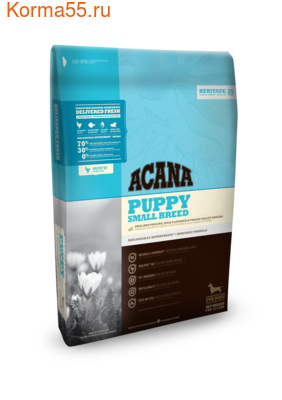 Сухой корм ACANA PUPPY SMALL BREED