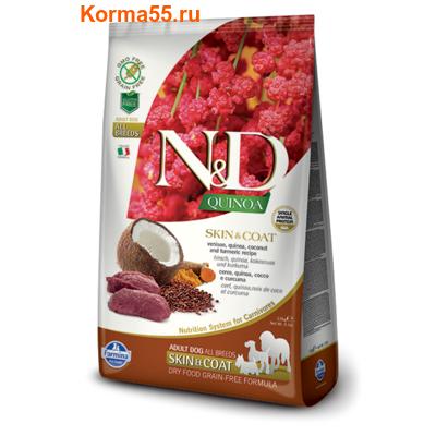 Farmina N&D Dog Quinoa Skin&Coat Venison