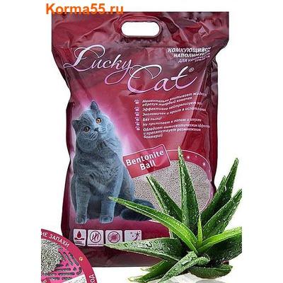 Наполнитель Lucky Cat Комкующийся (Алоэ Вера)