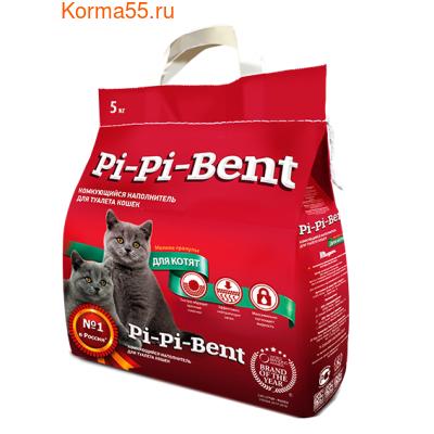 Наполнитель Pi-Pi-Bent для котят комкующийся (фото)