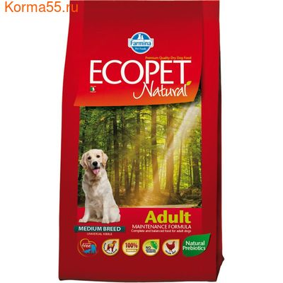 Farmina Ecopet Natural Adult (курица)