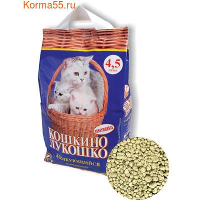 Наполнитель Кошкино Лукошко комкующийся