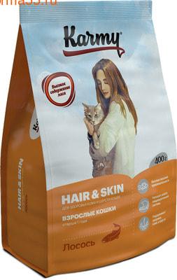 Сухой корм Karmy Hair&Skin (лосось) (фото)