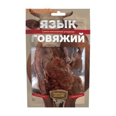 Деревенские лакомства для собак: язык говяжий