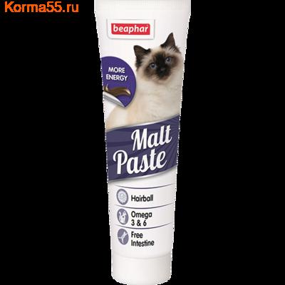 Паста Beaphar Malt Paste для вывода шерсти
