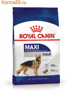 Сухой корм Royal canin MAXI ADULT (фото)