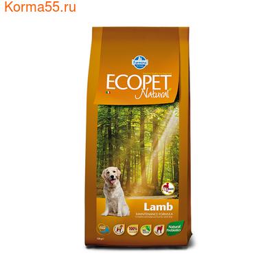 Farmina Ecopet Natural Lamb Adult Maxi (ягненок)