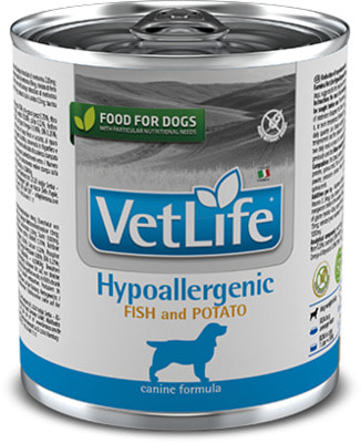 Консерва Farmina Vet Life Dog Hypoallergenic Fish and Potato