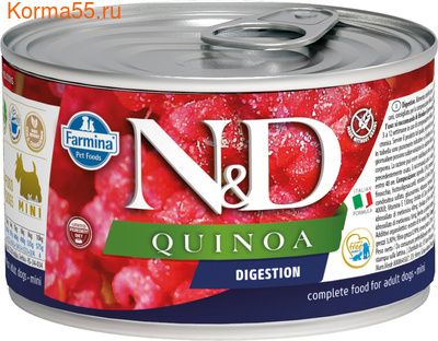 Консерва Farmina N&D Dog Mini Quinoa Digestion