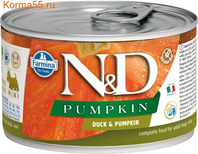 Консерва Farmina N&D Dog Mini Pumpkin Duck