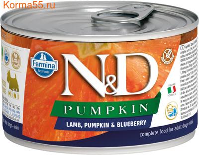 Консерва Farmina N&D Dog Mini Pumpkin Lamb & Blueberry