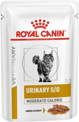 Влажный корм Royal Canin URINARY S/O MODERATE CALORIE пауч