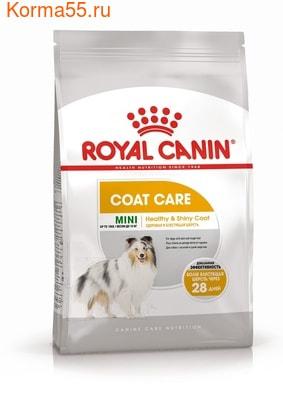Сухой корм Royal Canin MINI COAT CARE (фото)
