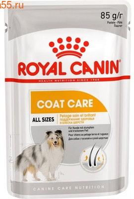 Влажный корм Royal Canin COAT BEAUTY POUCH LOAF (В ПАШТЕТЕ) (фото)
