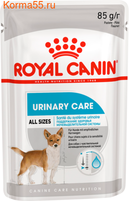 Влажный корм Royal Canin URINARY POUCH LOAF (В ПАШТЕТЕ)