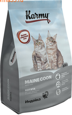 Сухой корм Karmy Maine Coon Kitten (фото)