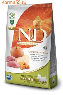 Сухой корм Farmina N&D Dog GF Pumpkin Boar & Apple Adult Mini