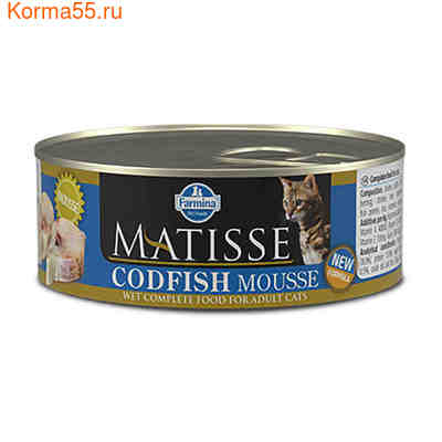 Консерва Farmina Matisse Codfish Mousse