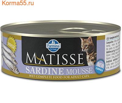 Консерва Farmina Matisse Sardine Mousse