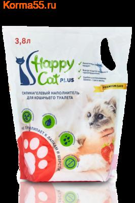 Наполнитель Happy Cat Клубника