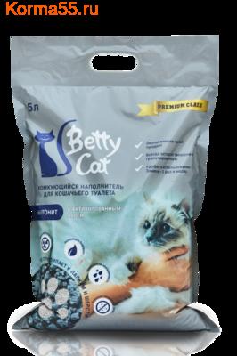 Наполнитель Betty Cat с активированным углем