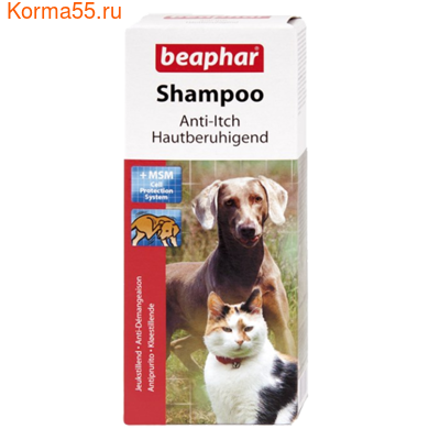 Шампунь Beaphar Shampoo Anti-Itch от зуда