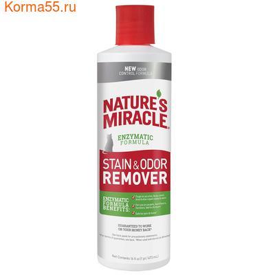 8in1 Natures Miracle Уничтожитель пятен и запахов для кошек 473мл