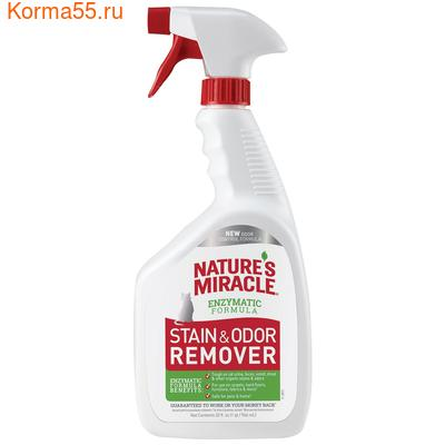8in1 Natures Miracle Уничтожитель пятен и запахов для кошек (спрей) 945мл