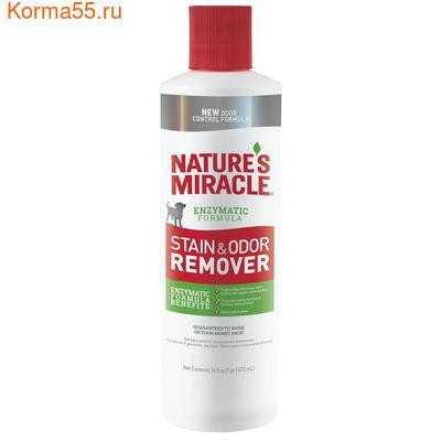 8in1 Natures Miracle Уничтожитель пятен и запахов для собак 473мл