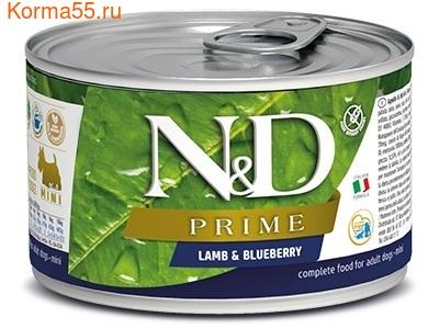 Консерва Farmina N&D GF Dog Mini Lamb & Blueberry