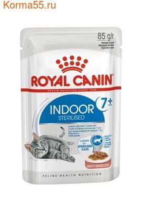 Влажный корм Royal Canin INDOOR STERILISED 7+ (В СОУСЕ)