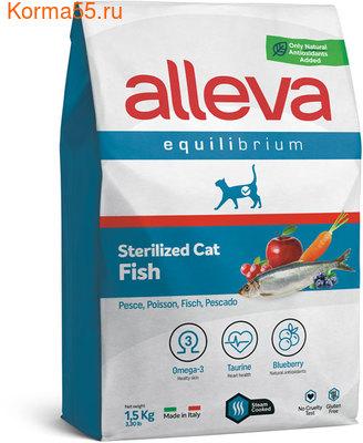 Сухой корм Alleva Equilibrium Sterilized Fish