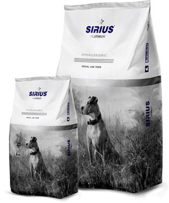 Сухой корм Sirius для взрослых собак (утка с овощами)