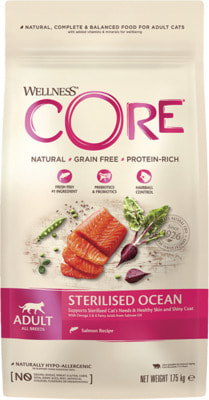 Сухой корм Wellness Core Cat Sterilised (лосось)
