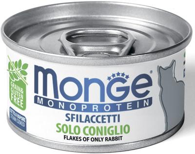 Влажный корм MONGE CAT MONOPROTEIN, кролик (фото)