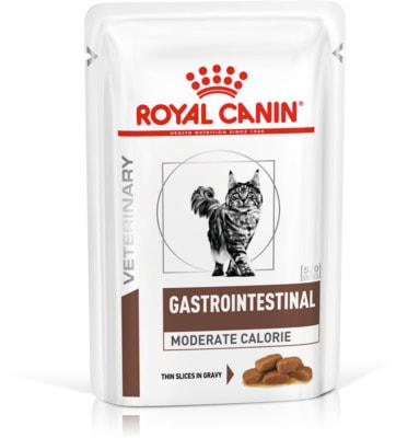 Влажный корм Royal canin GASTRO INTESTINAL MODERATE CALORIE пауч (фото)