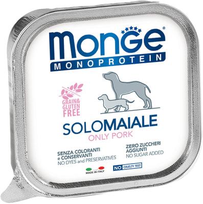 Влажный корм MONGE DOG MONOPROTEIN, свинина (фото)