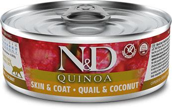 Влажный корм Farmina N&D Quinoa перепел с кокосом