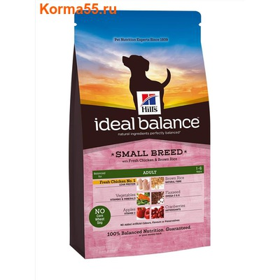 Ideal Balance Adult Small Breed with Fresh Chicken & Brown Rice