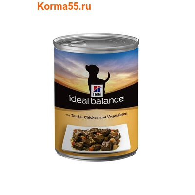 Ideal Balance Canine Adult with Chicken and Vegetables