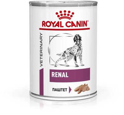 Влажный корм RENAL CANINE банка (фото)