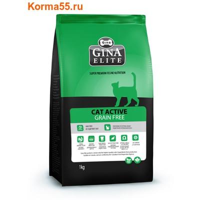 Сухой корм Gina Elite Cat Active Grain Free (Канада)