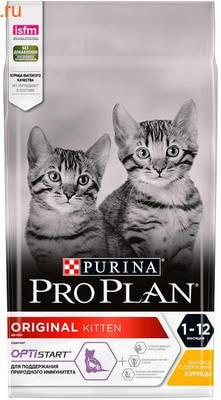 Сухой корм PRO PLAN Original Kitten с курицей