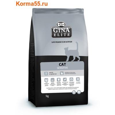 Сухой корм Gina Elite Cat Sensitive (Канада)
