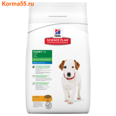 Сухой корм Hill's Science Plan Puppy Mini Healthy Development