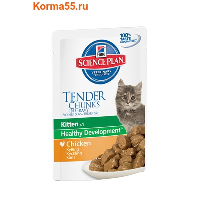 Влажный корм SP Feline Kitten Chicken