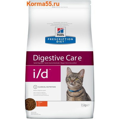 Сухой корм Hill's Prescription Diet i/d Digestive Care Feline