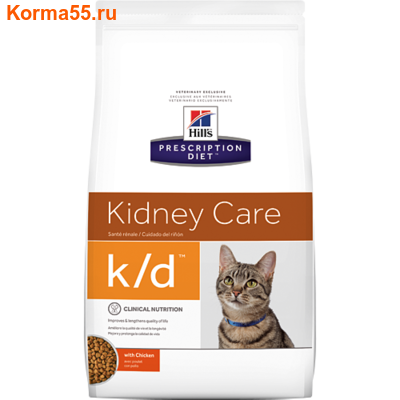 Сухой корм Hill's Prescription Diet k/d Kidney Care Feline