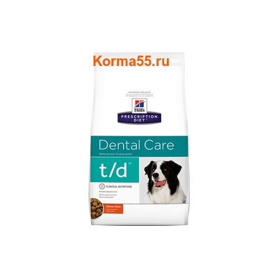 Сухой корм Hill's Prescription Diet t/d Dental Care Canine