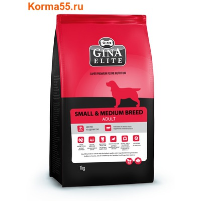 Сухой корм Gina Elite Small Dog Adult